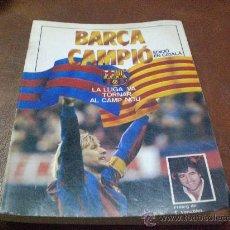 Coleccionismo deportivo: LIBRO BARÇA CAMPIÓ EN CATALÀ EN CATALAN ED SPORT PROLOGO DE VENABLES. Lote 27003430