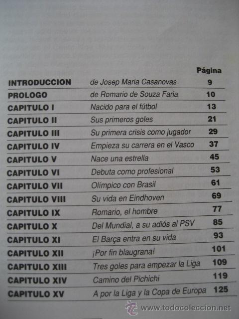 Coleccionismo deportivo: LIBRO FUTBOL. ROMARIO, EL REY DEL GOL. F.C. BARCELONA - Foto 3 - 15107242