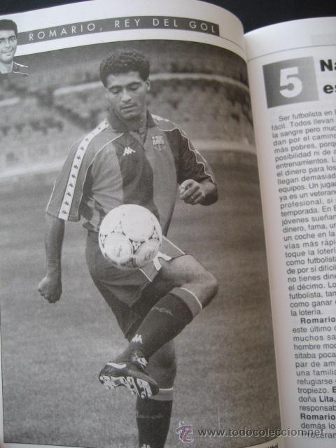 Coleccionismo deportivo: LIBRO FUTBOL. ROMARIO, EL REY DEL GOL. F.C. BARCELONA - Foto 4 - 15107242