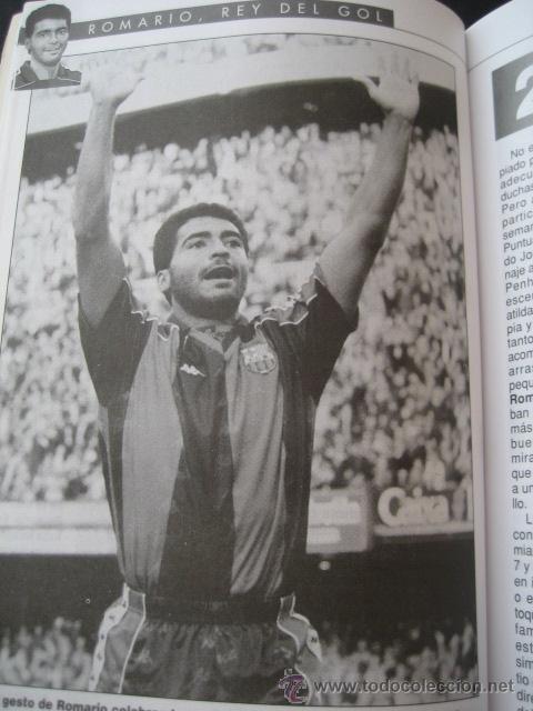 Coleccionismo deportivo: LIBRO FUTBOL. ROMARIO, EL REY DEL GOL. F.C. BARCELONA - Foto 5 - 15107242