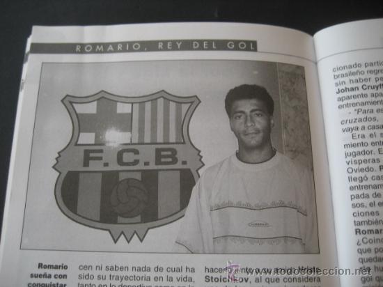 Coleccionismo deportivo: LIBRO FUTBOL. ROMARIO, EL REY DEL GOL. F.C. BARCELONA - Foto 6 - 15107242