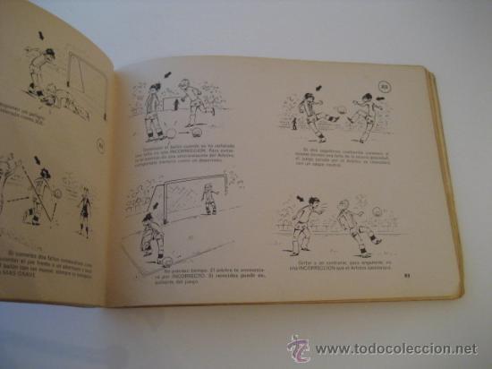 Coleccionismo deportivo: REAL FEDERACION ESPAÑOLA DE FUTBOL. LAS REGLAS DEL FUTBOL. INFANTILES. AÑO 1969 - Foto 2 - 15107313