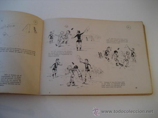 Coleccionismo deportivo: REAL FEDERACION ESPAÑOLA DE FUTBOL. LAS REGLAS DEL FUTBOL. INFANTILES. AÑO 1969 - Foto 3 - 15107313