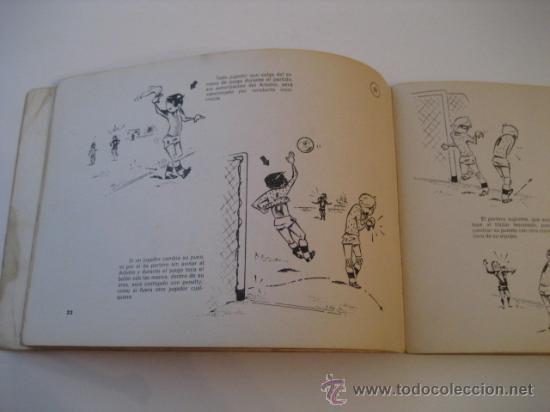 Coleccionismo deportivo: REAL FEDERACION ESPAÑOLA DE FUTBOL. LAS REGLAS DEL FUTBOL. INFANTILES. AÑO 1969 - Foto 4 - 15107313