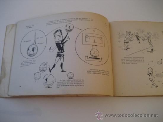 Coleccionismo deportivo: REAL FEDERACION ESPAÑOLA DE FUTBOL. LAS REGLAS DEL FUTBOL. INFANTILES. AÑO 1969 - Foto 5 - 15107313