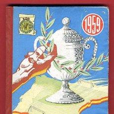 Coleccionismo deportivo: LIBRO FUTBOL, LA LUCHA POR LA COPA , 1959 , CON MUCHAS ILUSTRACIONES, DINAMICO.. Lote 24383761