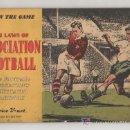 Coleccionismo deportivo: NORMATIVA DEL JUEGO DEL FUTBOL. 1954. ILUSTRADO. THE LAWS OF ASSOCIATION FOOTBALL. 48 PÁG.. Lote 16570590