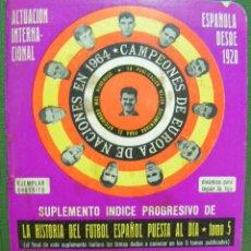 Coleccionismo deportivo: + DINAMICO, SUPLEMENTO, CALENDARIO LIGA 1975/ 76. Lote 15685073