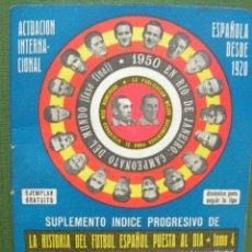 Coleccionismo deportivo: DINAMICO, SUPLEMENTO, CALENDARIO LIGA 1974/75. Lote 15685079