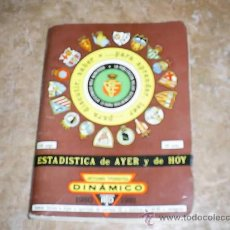 Coleccionismo deportivo: LIBRO DE ESTADISTICAS FUTBOL AÑO 80/81. Lote 27613273
