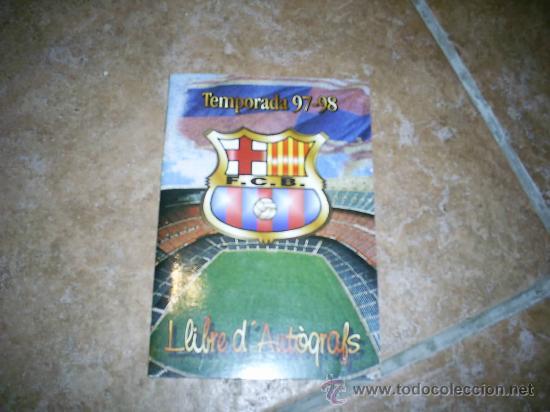 LIBRO DE ILUSTRACIONES DEL BARÇA (Coleccionismo Deportivo - Libros de Fútbol)