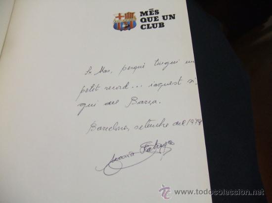 Coleccionismo deportivo: MES QUE UN CLUB LIBRO EDITADO POR EL F.C. BARCELONA EN SU 75 ANIVERSARIO - BARÇA - Foto 2 - 27040299