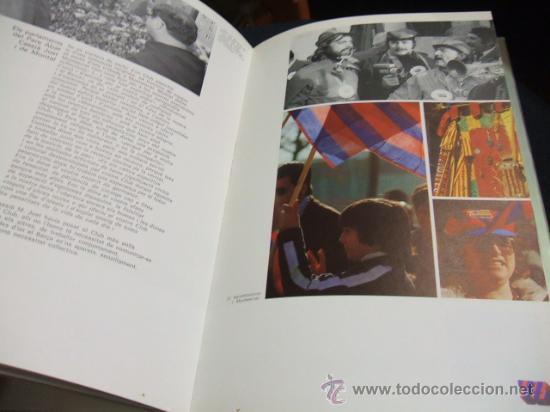 Coleccionismo deportivo: MES QUE UN CLUB LIBRO EDITADO POR EL F.C. BARCELONA EN SU 75 ANIVERSARIO - BARÇA - Foto 3 - 27040299