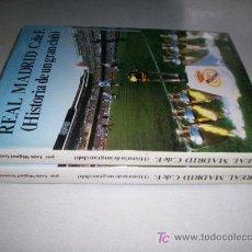 Coleccionismo deportivo: REAL MADRID C.DE.F. HISTORIA DE UN GRAN CLUB. TOMOS 1 Y 2. 30X24CMS GRANDE. Lote 23343650