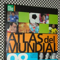 Coleccionismo deportivo - ATLAS DEL MUNDIAL 98 * FRANCIA 1998 * TAPA DURA * - 20457844