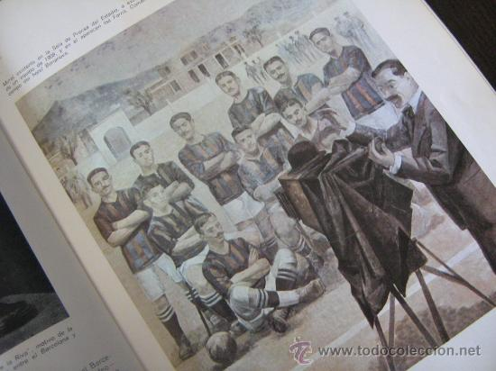 Coleccionismo deportivo: barça libro del cf barcelona f.c 1971 muy ilustrado con 416 paginas historia del club miren fotos - Foto 3 - 18757931
