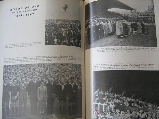 Coleccionismo deportivo: barça libro del cf barcelona f.c 1971 muy ilustrado con 416 paginas historia del club miren fotos - Foto 6 - 18757931