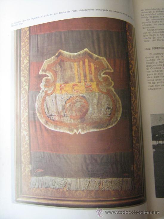 Coleccionismo deportivo: barça libro del cf barcelona f.c 1971 muy ilustrado con 416 paginas historia del club miren fotos - Foto 9 - 18757931