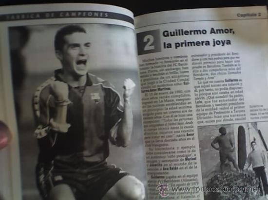 Coleccionismo deportivo: LA GRAN CANTERA DEL BARCA - FABRICA DE CAMPEONES, por Toni Frieros - España - 1996 - Foto 2 - 19090682