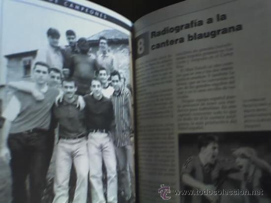 Coleccionismo deportivo: LA GRAN CANTERA DEL BARCA - FABRICA DE CAMPEONES, por Toni Frieros - España - 1996 - Foto 4 - 19090682