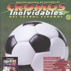 Collezionismo sportivo: FASCÍCULO DE FÚTBOL RESUMEN TEMPORADA 1981/82 - OFERTAS DOCABO. Lote 19708088
