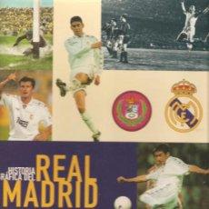 Coleccionismo deportivo: HISTORIA GRAFICA DEL REAL MADRID DIARIO AS ALBUM COMPLETO TAPA DURA. Lote 21197744