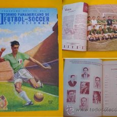 Coleccionismo deportivo: PROGRAMA OFICIAL DEL II TORNEO PANAMERICANO DE FUTBOL - SOCCER PROFESIONAL. 1956 MEXICO. Lote 21317764