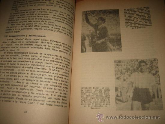 Coleccionismo deportivo: AMISTAD ENTRE PATADAS POR CARLOS ITURRALDE RIVERO 2ª EDICION NO TRAE FECHA - Foto 3 - 21714155