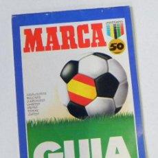 Coleccionismo deportivo: GUÍA DE LA LIGA ESPAÑOLA DESDE 1939 A 1987 50 AÑOS MARCA - FÚTBOL DEPORTE HISTORIA - NO ES LIBRO. Lote 27162911