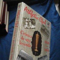 Coleccionismo deportivo: HISTORIA DEL ATHLETIC CLUB - CRONICA DE UN LEYENDA 1898 -1998 MITO BATEN KRONIKA EN EUSKERA ( VGREPE. Lote 37440574