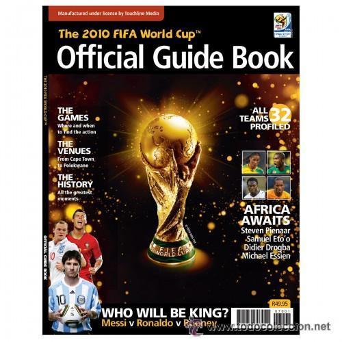 *** MUNDIAL 2010 - LIBRO GUIA OFICIAL FIFA COPA DEL MUNDO 2010 *** (Coleccionismo Deportivo - Libros de Fútbol)