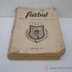 Coleccionismo deportivo: LIBRO DEL FUTBOL DE 1950-51. Lote 23853208