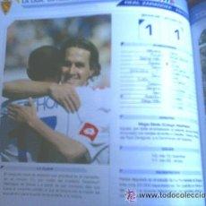 Coleccionismo deportivo: ANUARIO ESTADISTICO REAL ZARAGOZA - TEMPORADA 2005-06. Lote 26155604