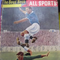 Coleccionismo deportivo: THE BOYS'BOOK OF ALL SPORTS. 1958. PUBLISHED BY THE NEW CHRONICLE & DAILY DISPATCH.. Lote 25706490