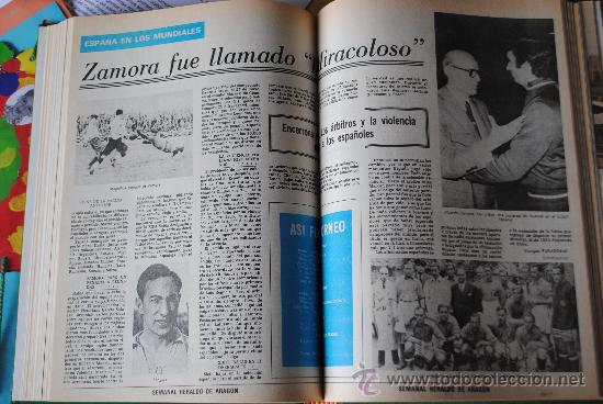 Coleccionismo deportivo: CAMPEONATO MUNDIAL DE FUTBOL 1982. HERALDO DE ARAGON. COMPLETO!!!!!!!!!! MUNDIAL 82 - Foto 3 - 27249749