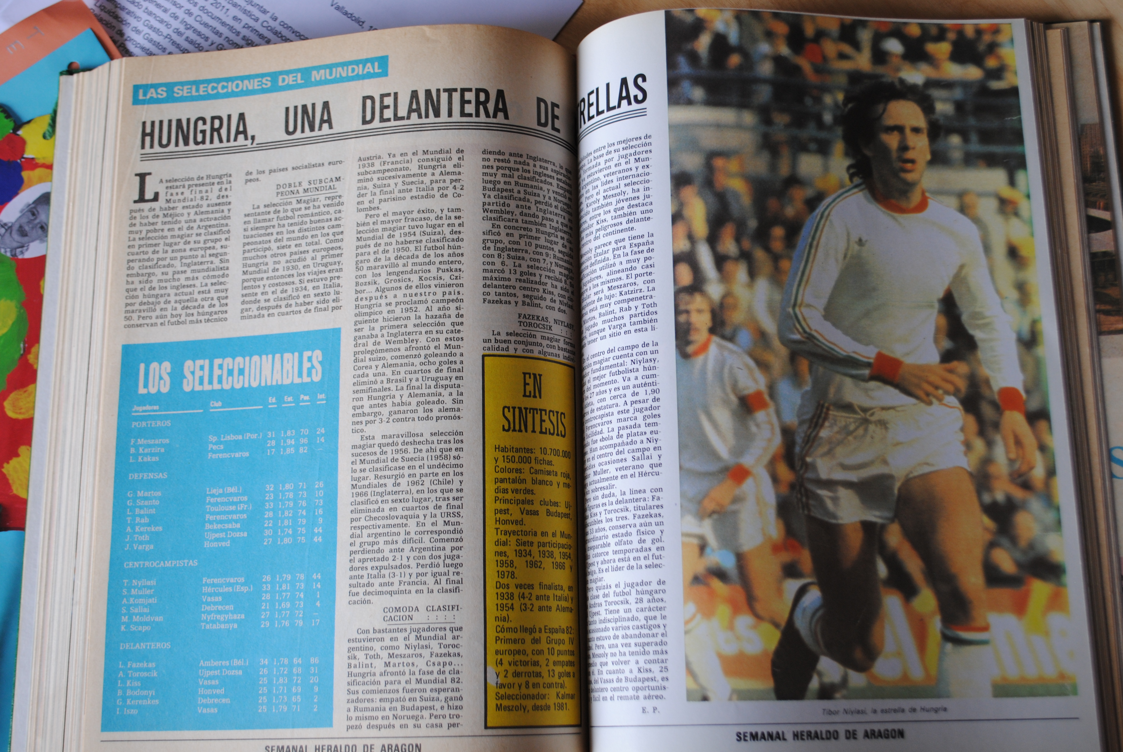 Coleccionismo deportivo: CAMPEONATO MUNDIAL DE FUTBOL 1982. HERALDO DE ARAGON. COMPLETO!!!!!!!!!! MUNDIAL 82 - Foto 4 - 27249749