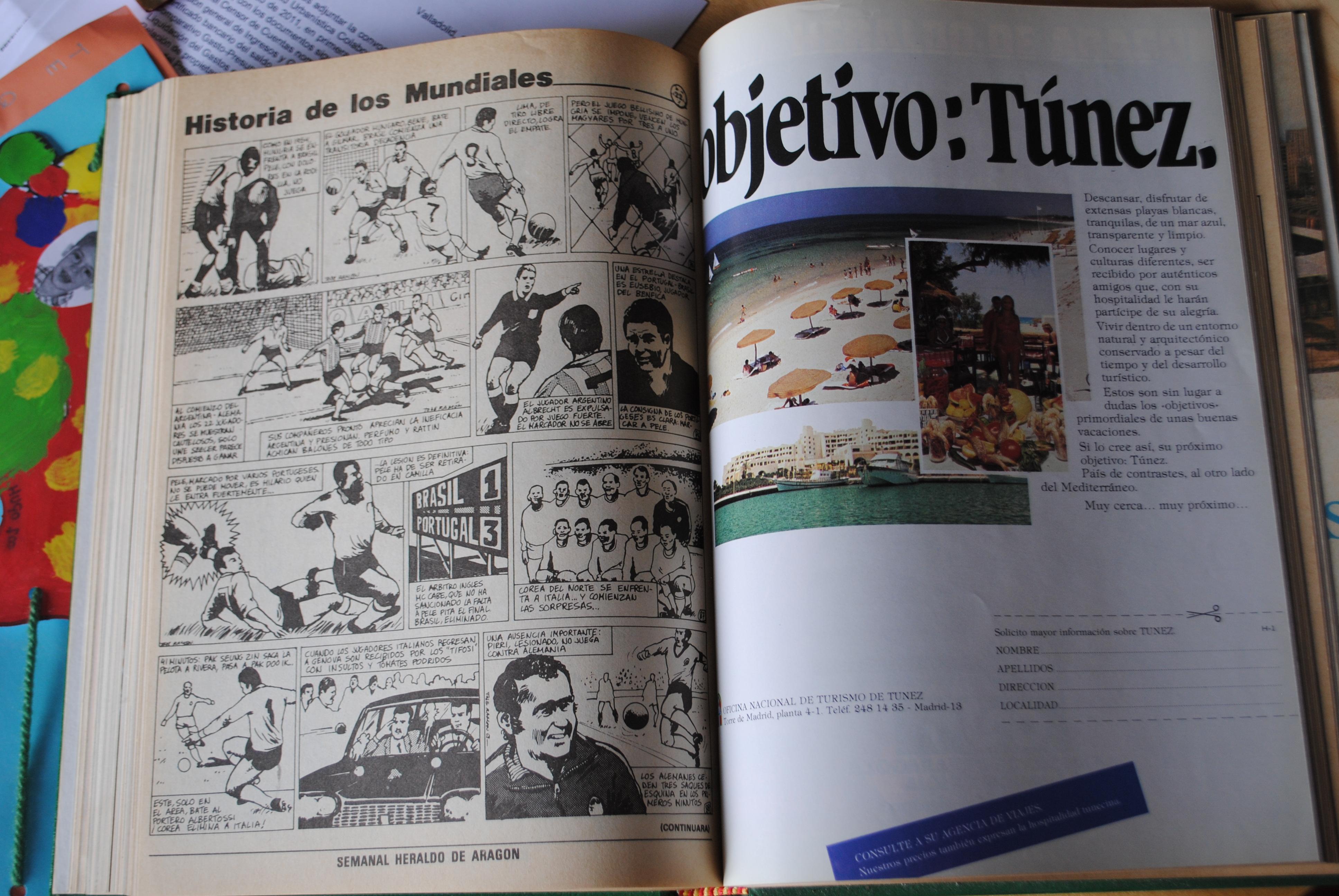 Coleccionismo deportivo: CAMPEONATO MUNDIAL DE FUTBOL 1982. HERALDO DE ARAGON. COMPLETO!!!!!!!!!! MUNDIAL 82 - Foto 5 - 27249749