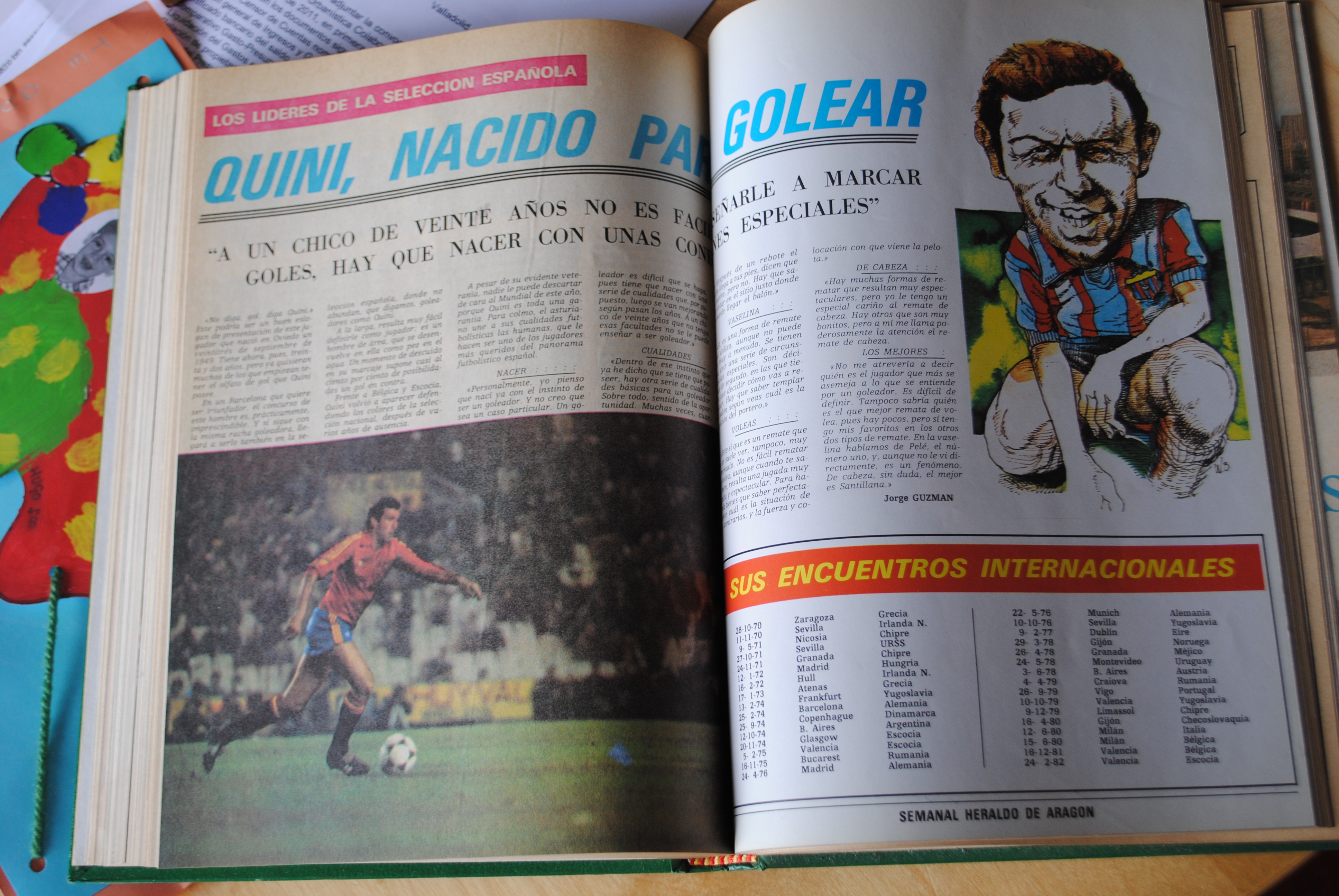 Coleccionismo deportivo: CAMPEONATO MUNDIAL DE FUTBOL 1982. HERALDO DE ARAGON. COMPLETO!!!!!!!!!! MUNDIAL 82 - Foto 6 - 27249749