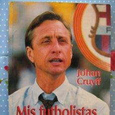 Coleccionismo deportivo: BARÇA FUTBOL CLUB CF BARCELONA FC LIBRO MIS FUTBOLISTAS Y YO JOHAN CRUYFF MIREN LAS FOTOS. Lote 26419011