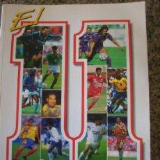 Coleccionismo deportivo: EL 11 DE AMERICA, POR DANIEL CHAPELA (PRÓLOGO VÍCTOR HUGO MORALES) - CÁRDENAS LARES - COLOMBIA 1995. Lote 27026210