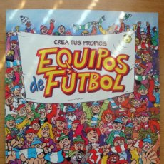 Coleccionismo deportivo: CREA TUS PROPIOS EQUIPOS DE FUTBOL LOS KIJUEGOS DE ALTEA, KEN ROSS, PAT MCCARTHY AÑOS 80. Lote 27644451