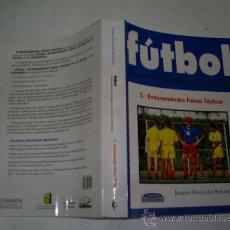 Coleccionismo deportivo: FÚTBOL ENTRENAMIENTO FÍSICO BASADO EN TÁCTICA Y ESTRATEGIA 2 ENTRENAMIENTOS FÍSICOS TÁCTICOS RM51527. Lote 28056743
