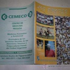 Coleccionismo deportivo: LOS PROFES DEL FÚTBOL. Nº 3 DICIEMBRE 1997 VV.AA. RM51668. Lote 28068185