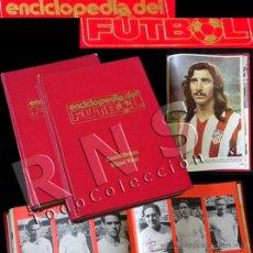 Coleccionismo deportivo: LIBRO ENCICLOPEDIA DE FÚTBOL 2 TOMOS - MUY ILUSTRADA JUGADORES HISTORIA DEPORTE EQUIPOS RAMÓN MELCÓN. Lote 28981778