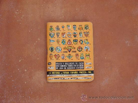 CALENDARIO FÚTBOL DINÁMICO TEMPORADA 85-86 (Coleccionismo Deportivo - Libros de Fútbol)