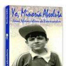Coleccionismo deportivo: LIBRO RCD ESPAÑOL: YO, MINORÍA ABSOLUTA + DVD 'RCD ESPANYOL, UNA HISTORIA DE AMOR'. Lote 57139392