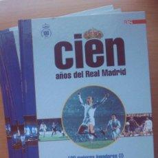 Coleccionismo deportivo: COLECCION COMPLETA CIEN AÑOS DEL REAL MADRID 12 TOMOS - 1902 - 2002 CENTENARIO - DIARIO AS -. Lote 39142037