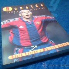 Coleccionismo deportivo: RONALDO. RETRATO DE UN NIÑO. F.C. BARCELONA. POR DAVID TORRAS Y MARCOS LOPEZ. EDICIONES B, 1997.. Lote 30178137