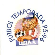 ATHLETIC CLUB BILBAO TEMPORADA 1995-96. FICHERO ANILLAS. COMPLETO. FUTBOL