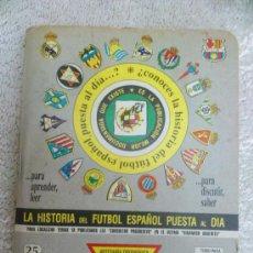 Coleccionismo deportivo: LIBRILLO DINAMICO FUTBOL. TOMO 25. TEMPORADA 1995-96. Lote 32331113